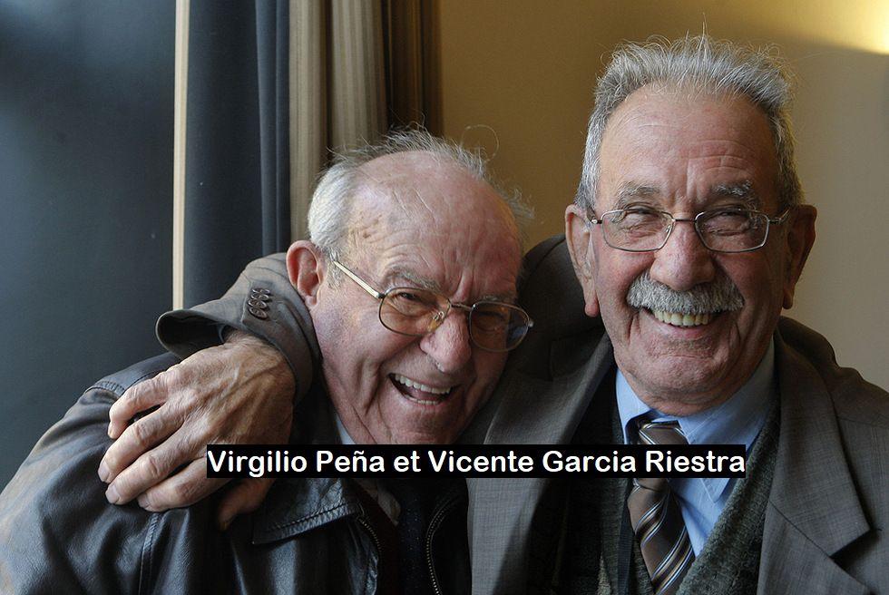 Vicente Garcia Riestra et Virgilio Peña